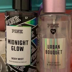 VS PINK body spray. Just the midnight glow one.
